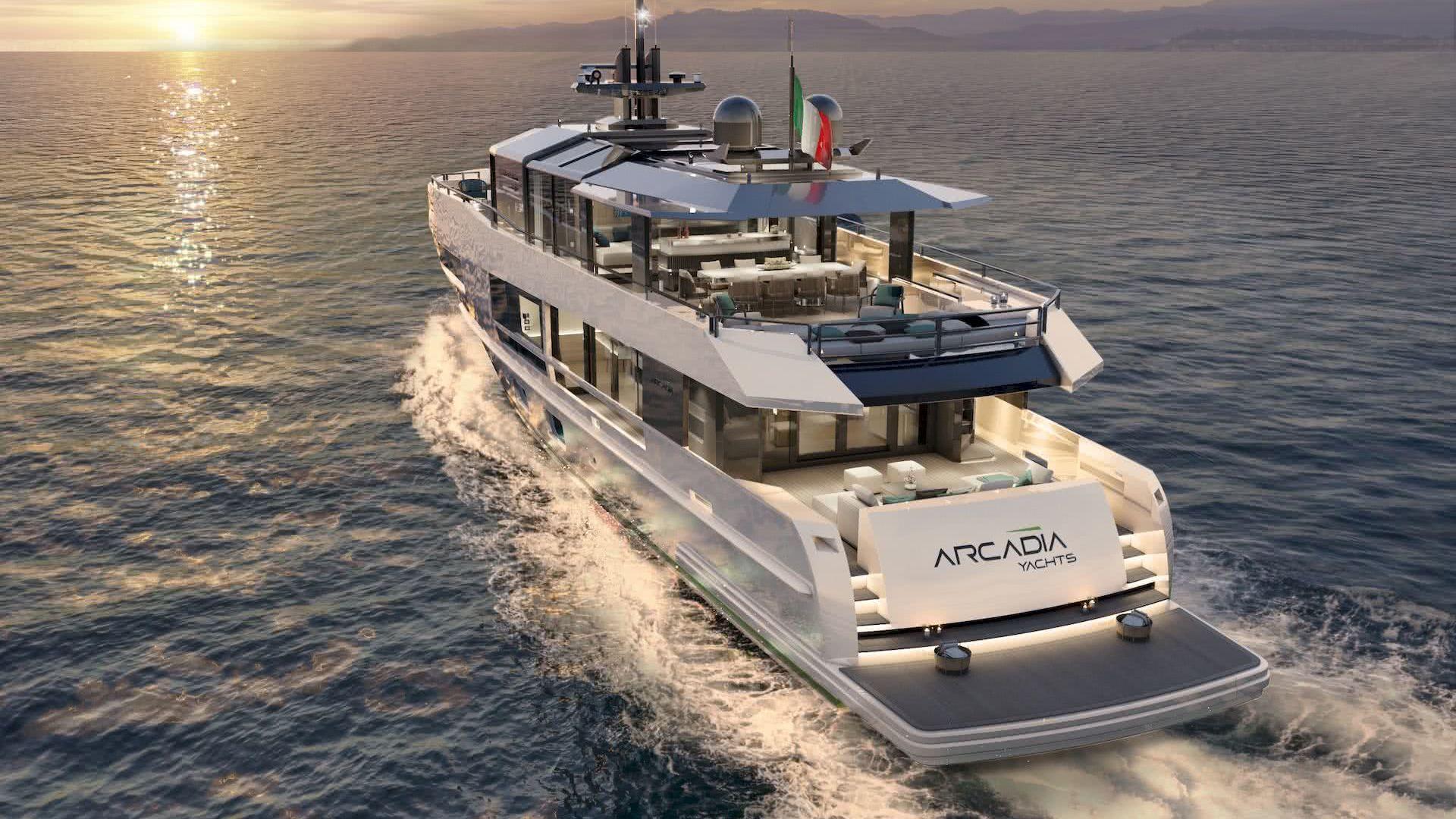 Arcadia 115 Yacht Hot Lab Yacht Design