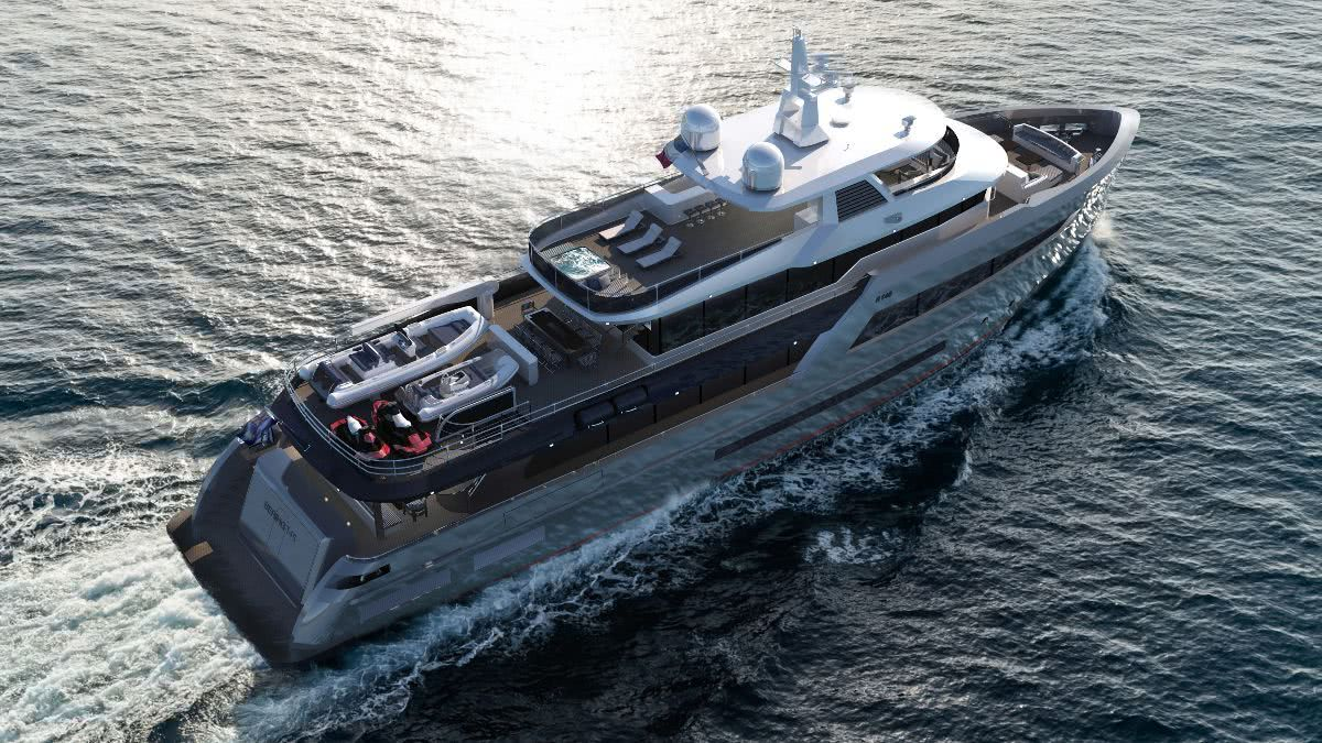 Bering 145 Motor Yacht