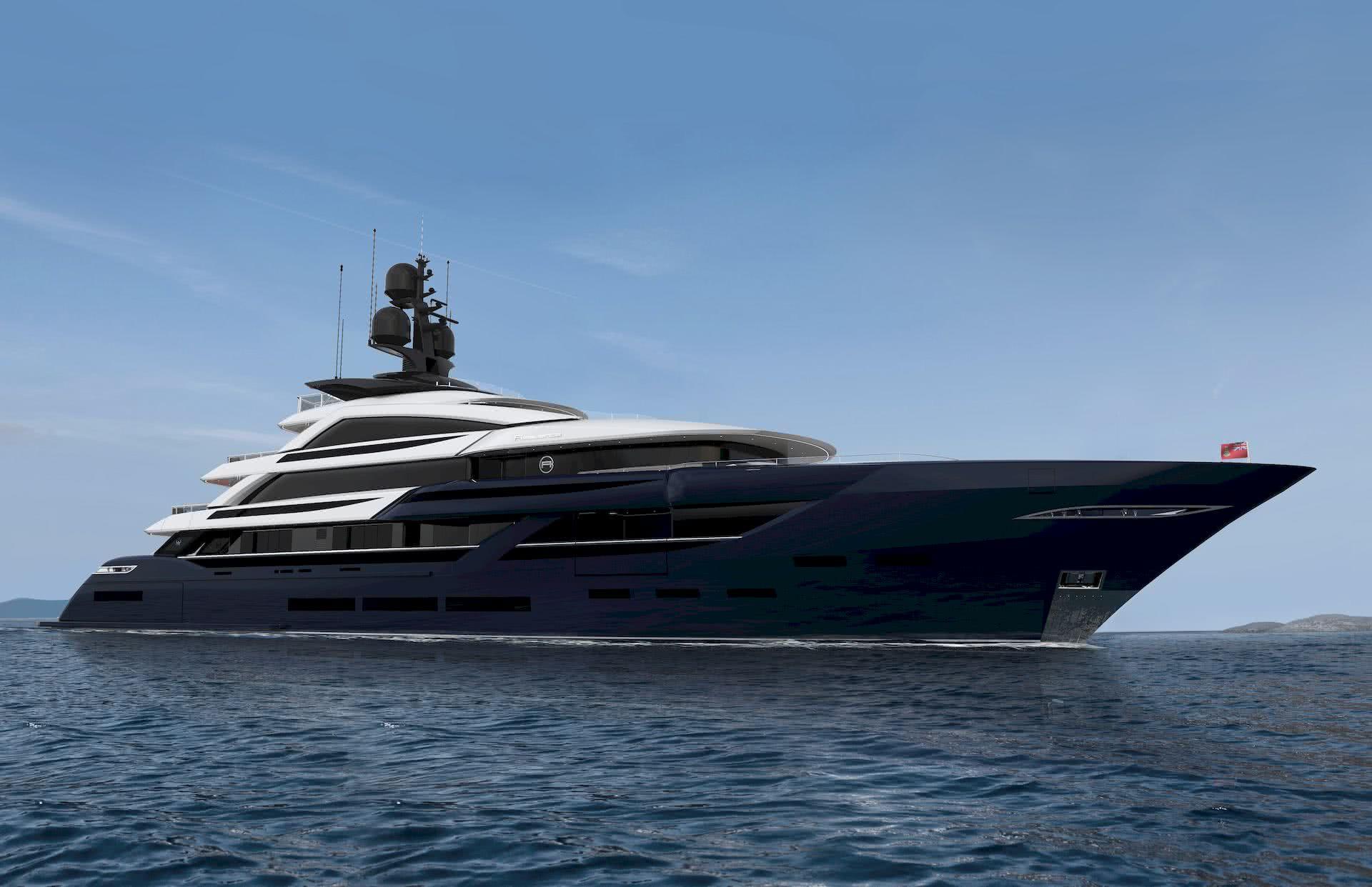 ISA Classic 65 meter Yacht