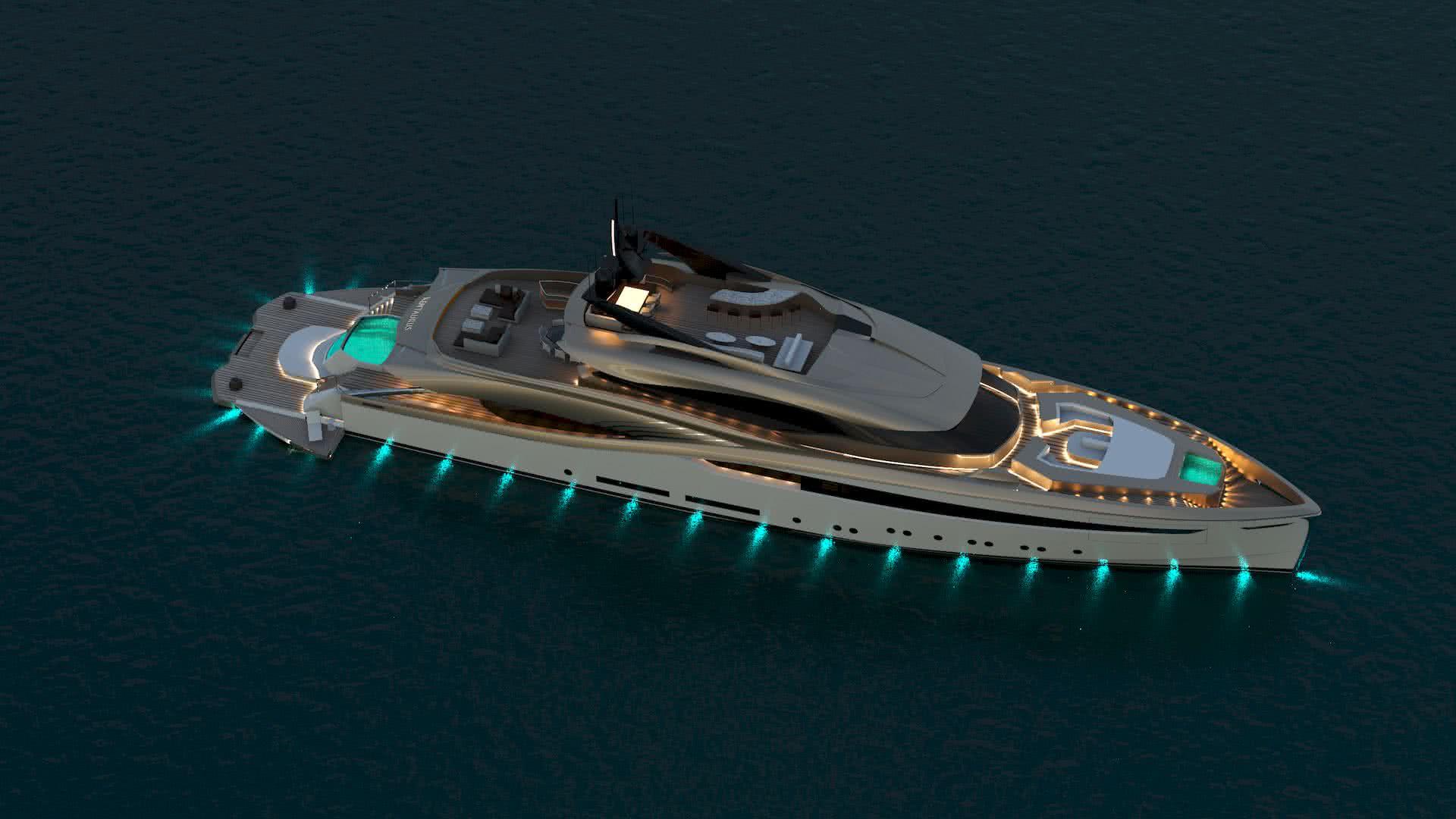 KENTAURUS Alpha Marine Yacht Design Yachtley