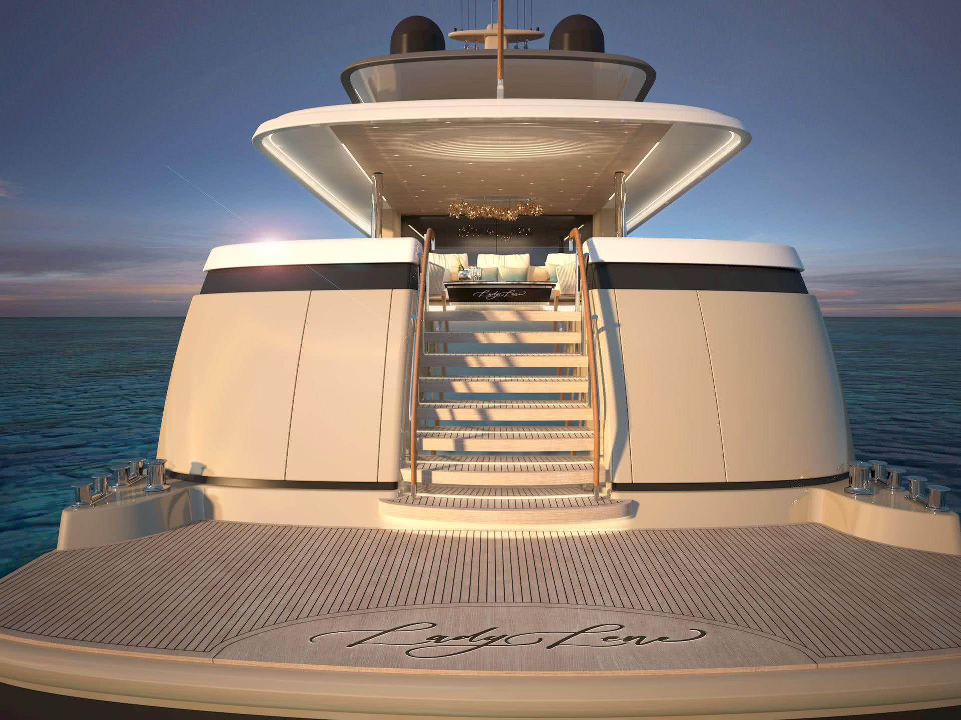 Lady Lene Yacht 34m Explorer Diana Yacht Design