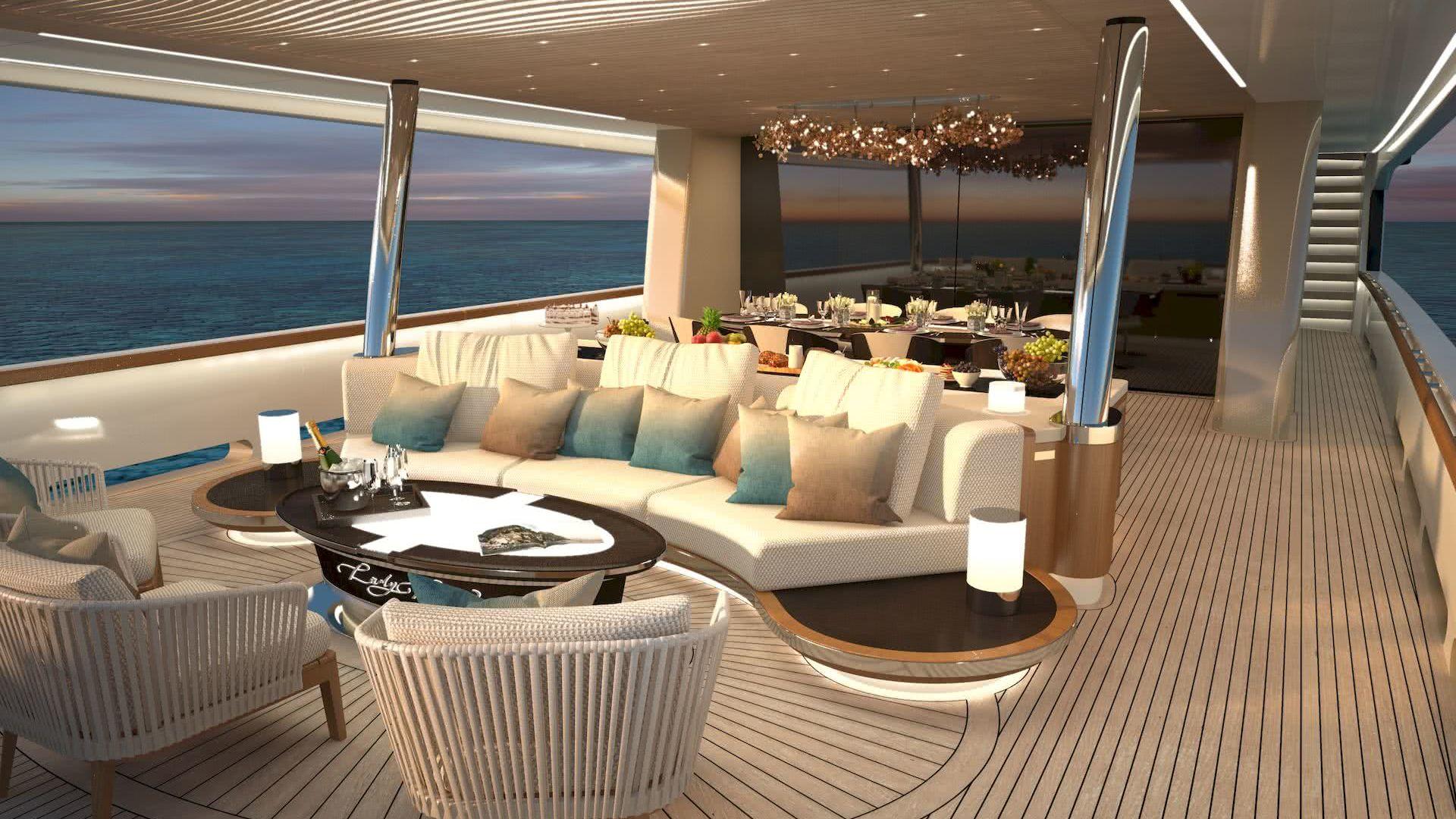 Lady Lene Yacht 34m Explorer Ginton Naval Architects