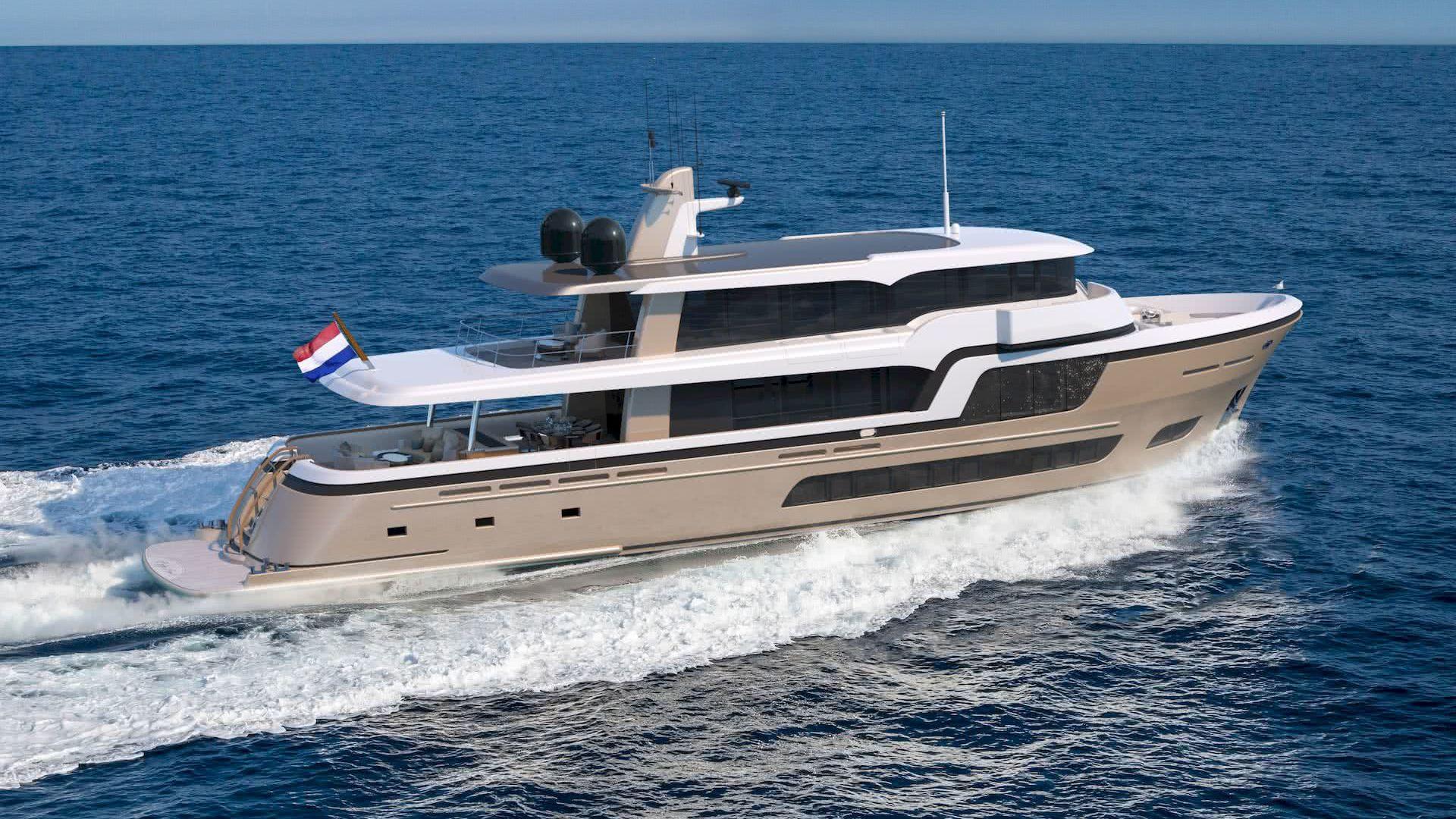 Lady Lene Yacht 34m Explorer Guido de Groot