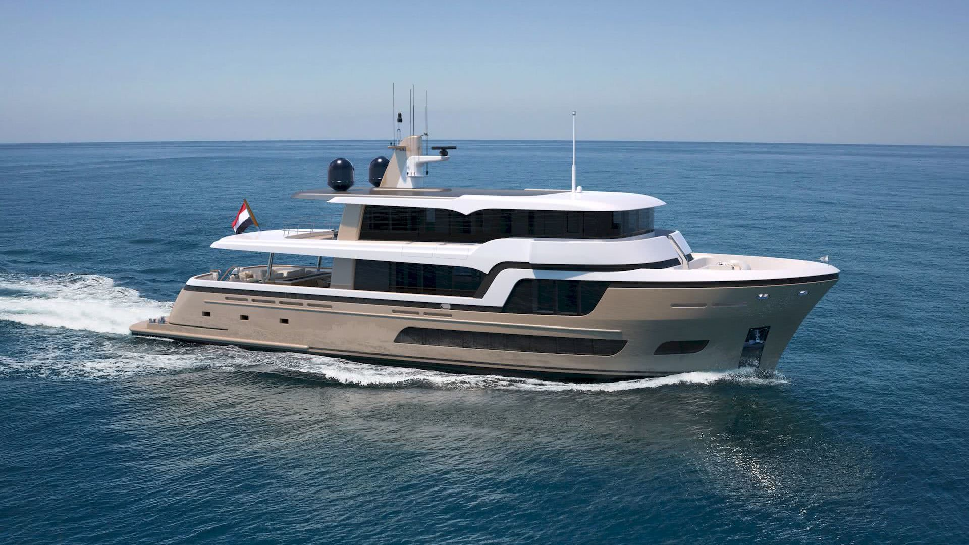 Lady Lene Yacht 34m Explorer Hull Vane
