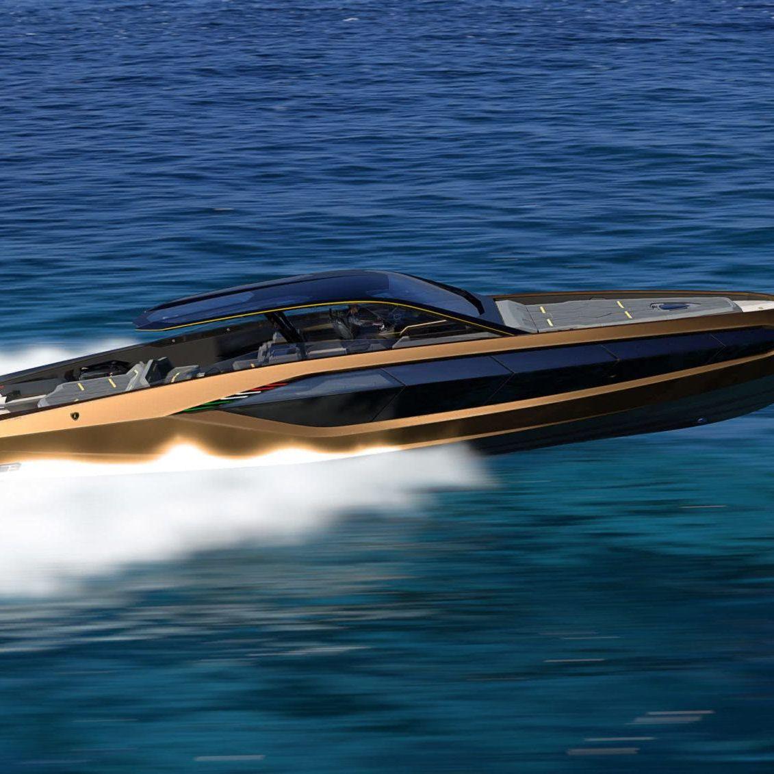 Lamborghini 63 Yacht Tecnomar