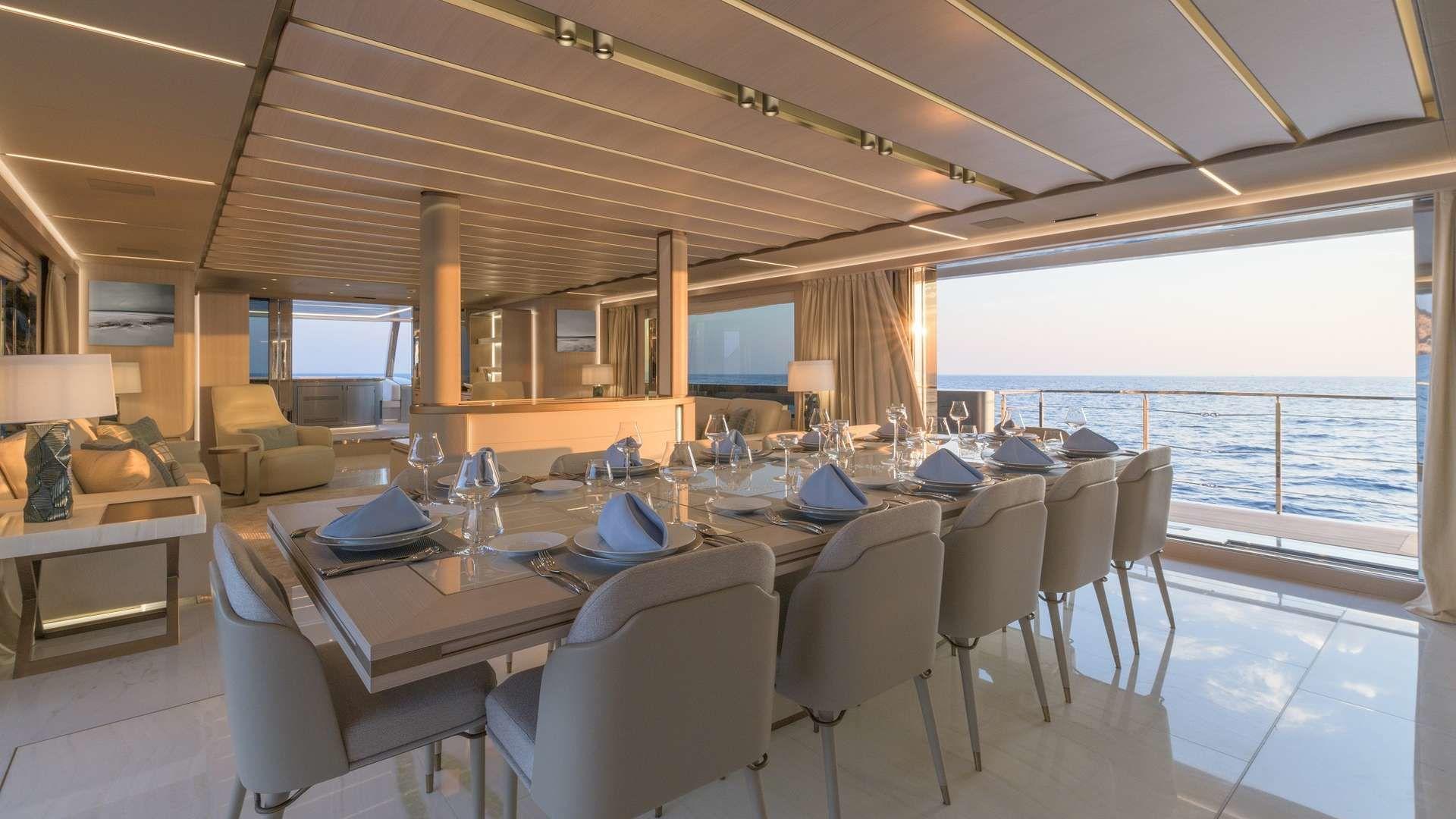 Motor Yacht EIV Interior Rossinavi