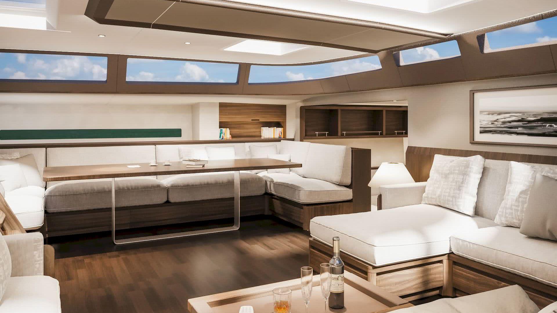 Solaris 111 Sailing Yacht Interior