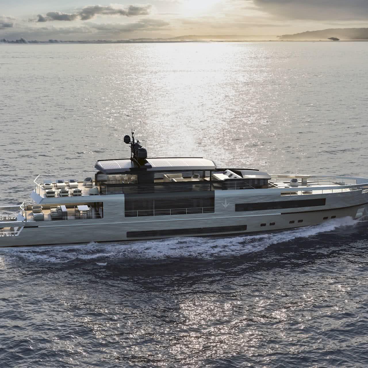 UP40 Yacht Antonini Navi Modular Yacht