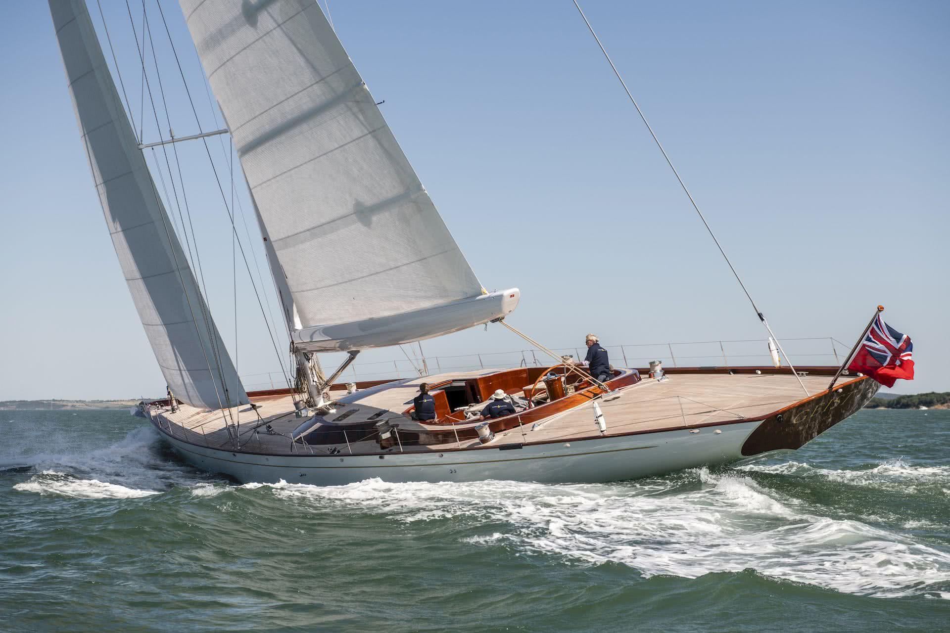 Spirit 111 Sailing Yacht