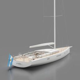 Y9 Sailing Yacht Y Yachts Tripp Design
