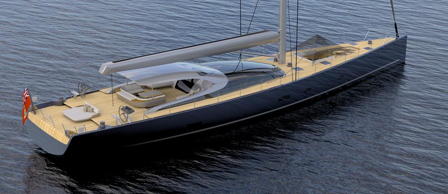 38m Sailing Yacht Malcolm McKeon Yacht Design