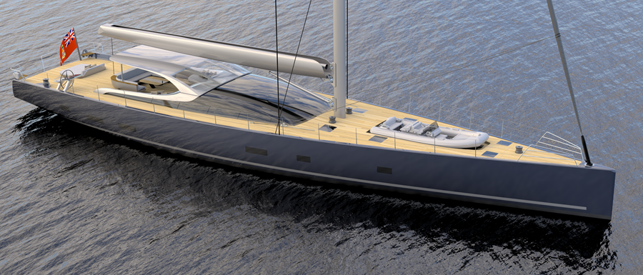 Sailing Yacht Design MM38