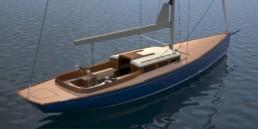 Trintella 45 Classic Sailing Yacht