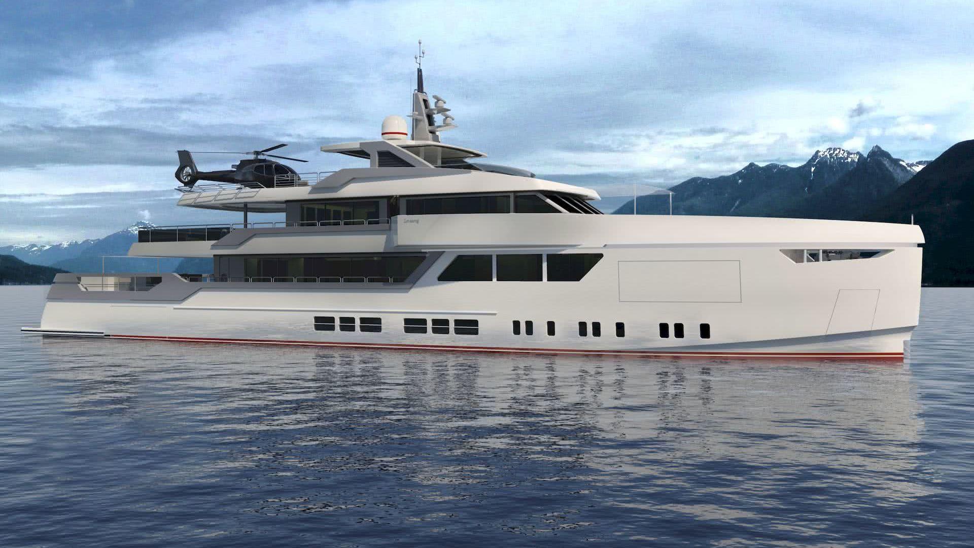 45m Yacht LOVESONG Gian Paolo Nari