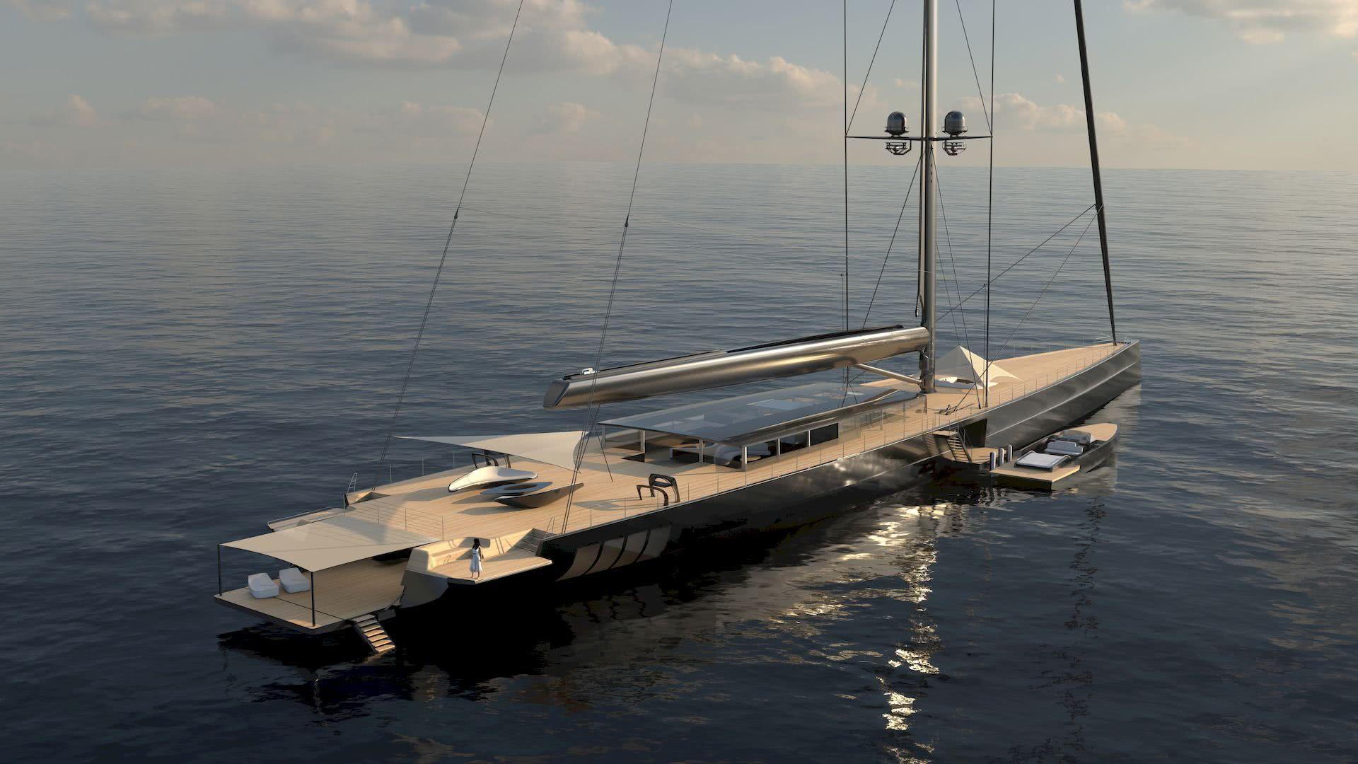 Apex 850 Royal Huisman Malcolm McKeon Yacht Design