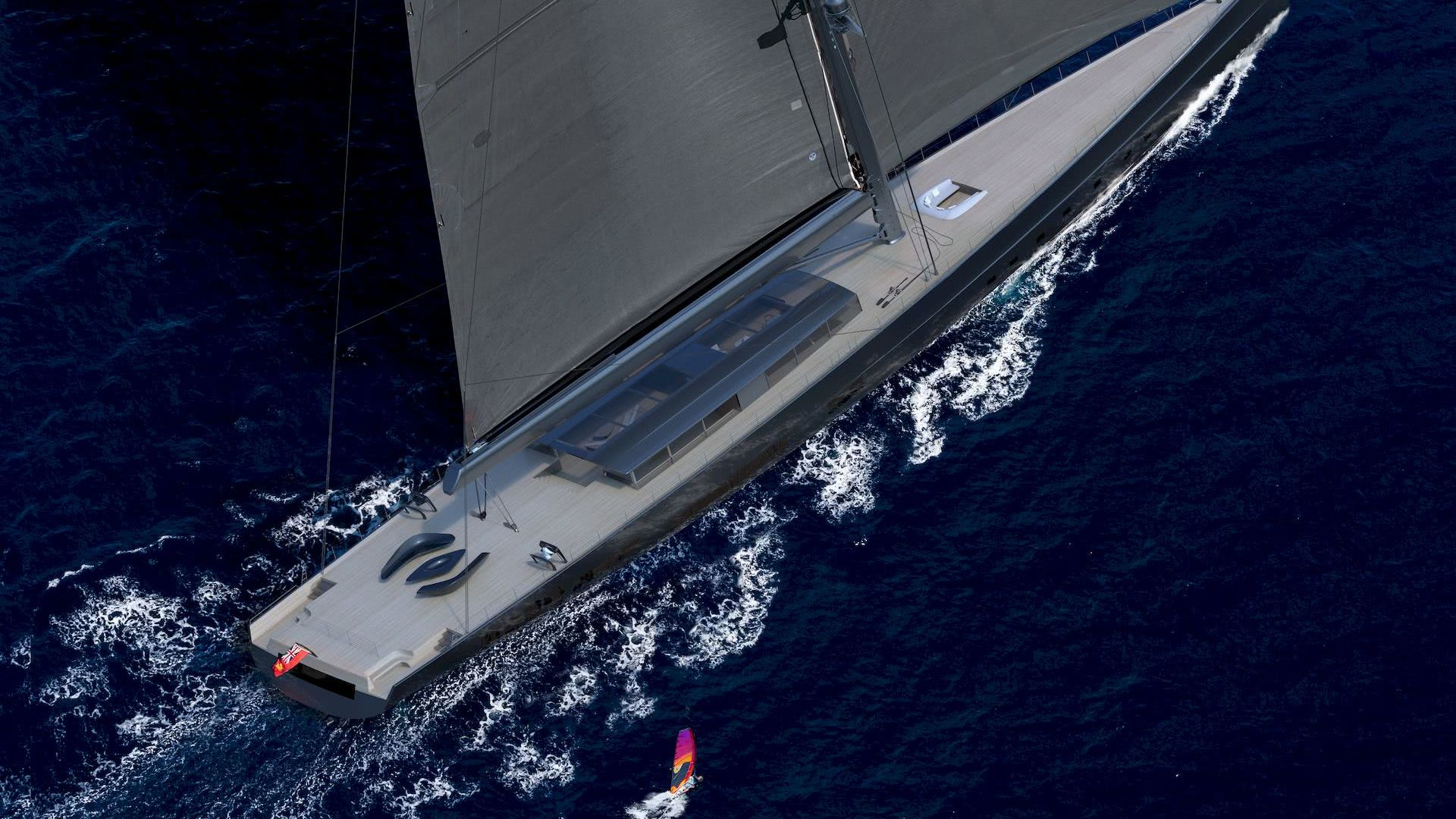 Apex 850 Sailing Yacht Biggest Sloop Yacht in the World
