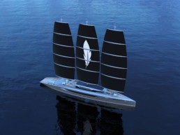 DynaRig Sailing Yacht Feather Onur Kiren