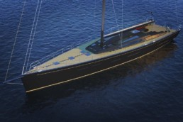 24m Sailing Yacht Design VICTORIA Carlo Corona