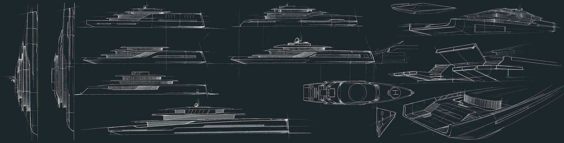 75m Hybrid Yacht BYD Group