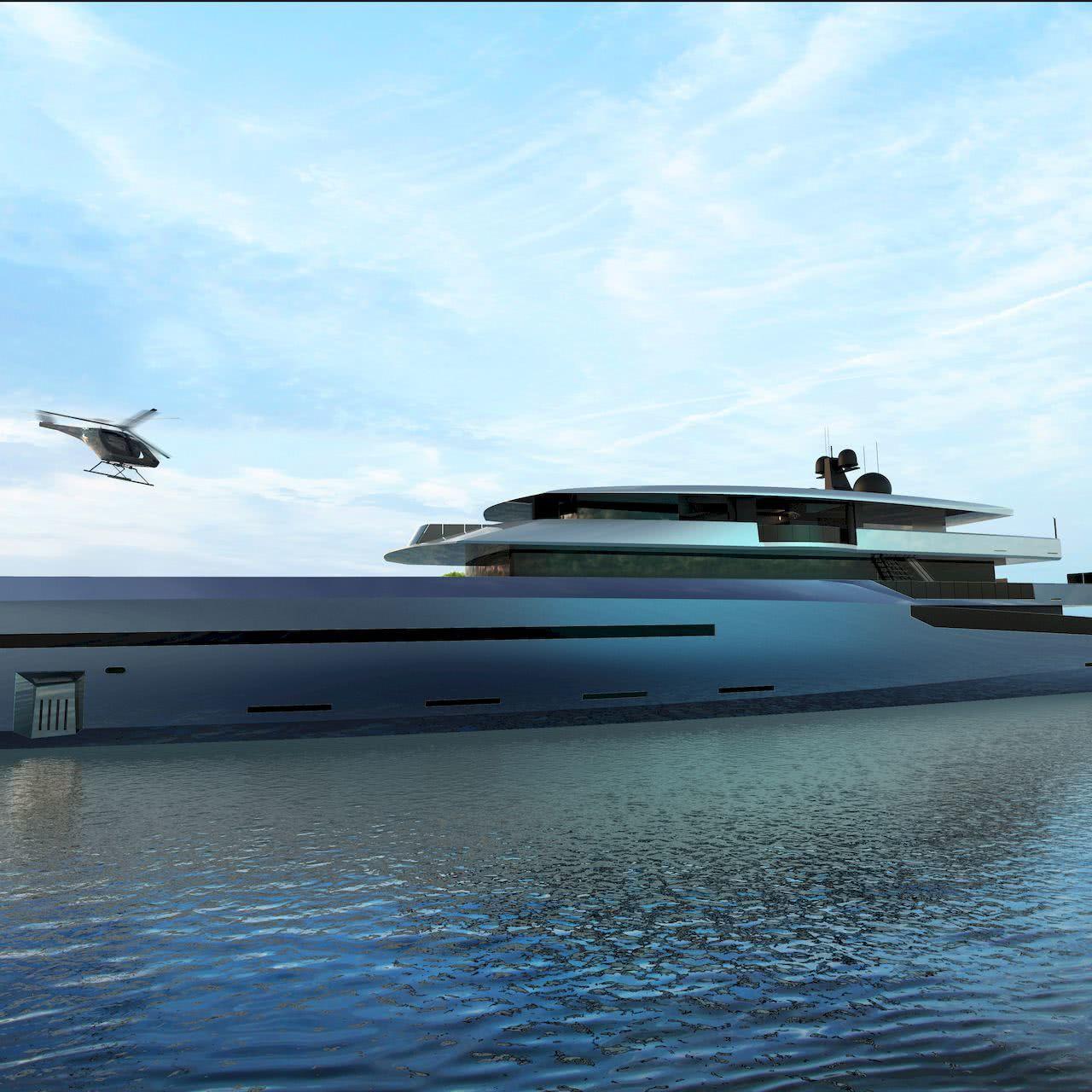 75m Hybrid Yacht Bravo 75 BYD Group