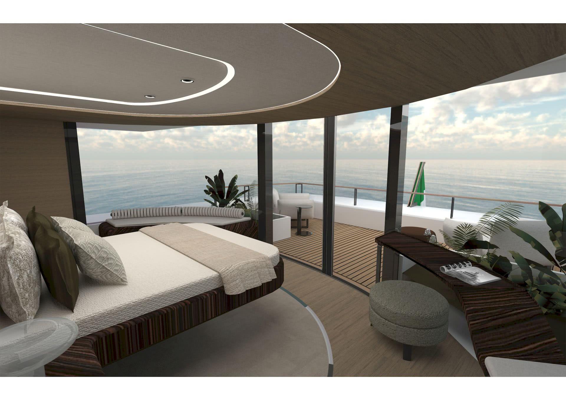 Interior Motor Yacht ECHO OB Yacht Design