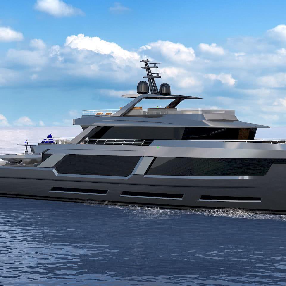 50m Explorer Yacht MP Design