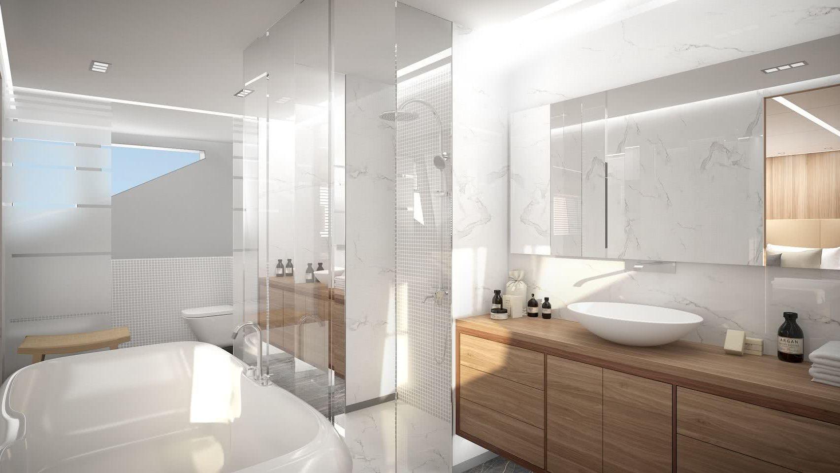 50m Motor Yacht MP Design Interior