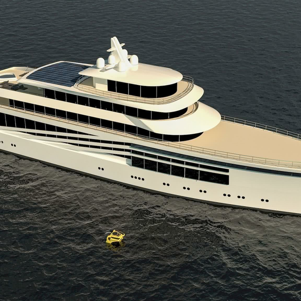 90m yacht phoenix Daniela Swart Matos