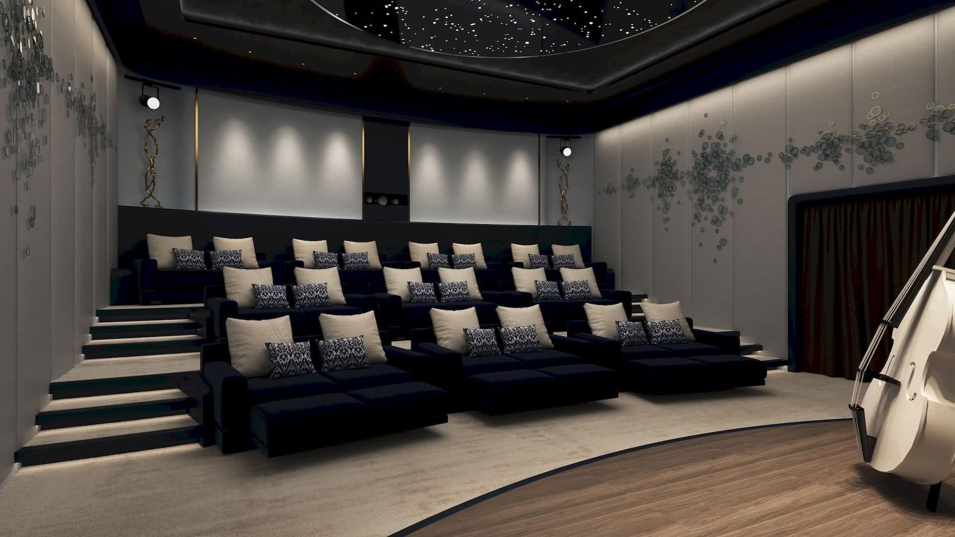 Motor Yacht NOW Piredda Partners Cinema