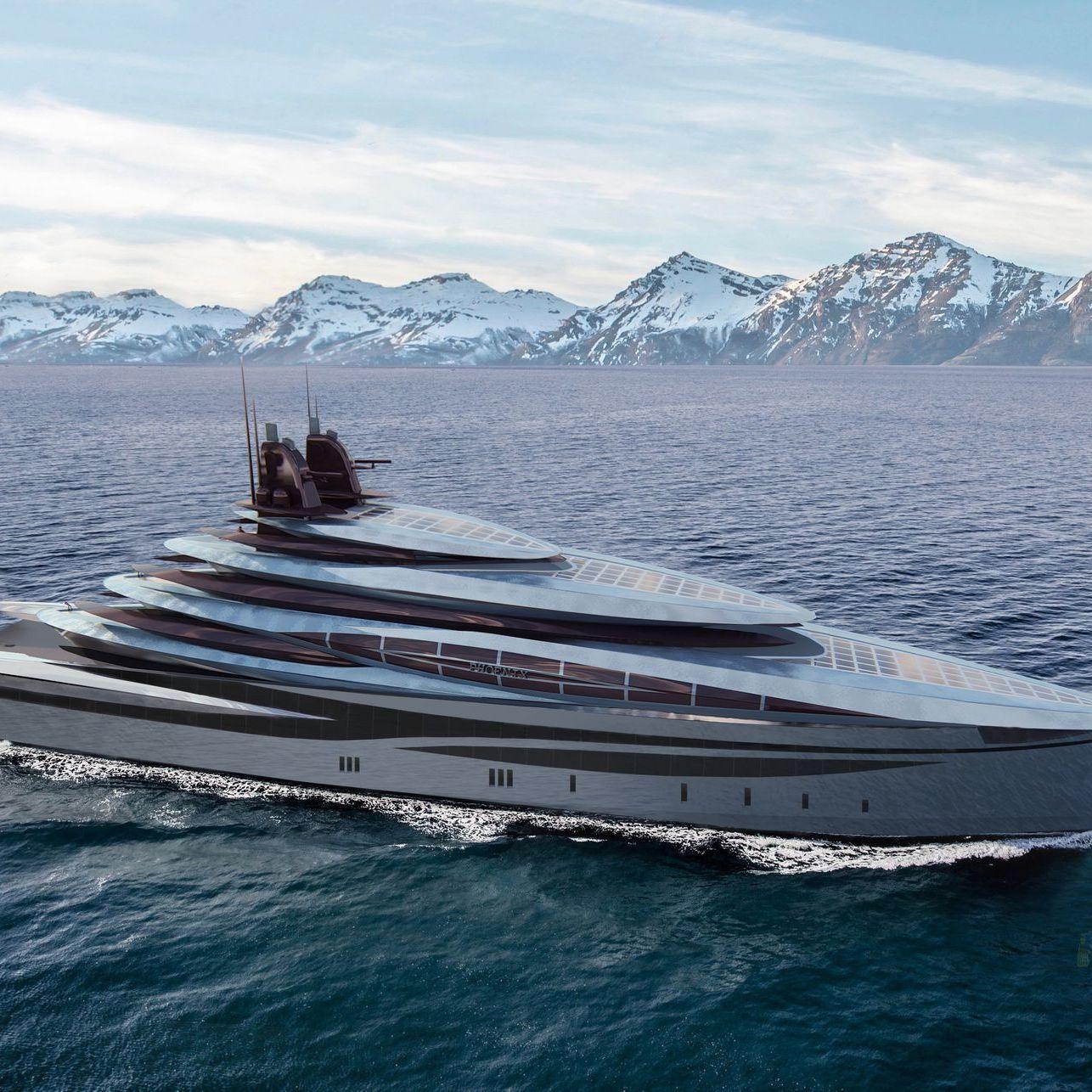 Motor Yacht Phoenix InMind Design