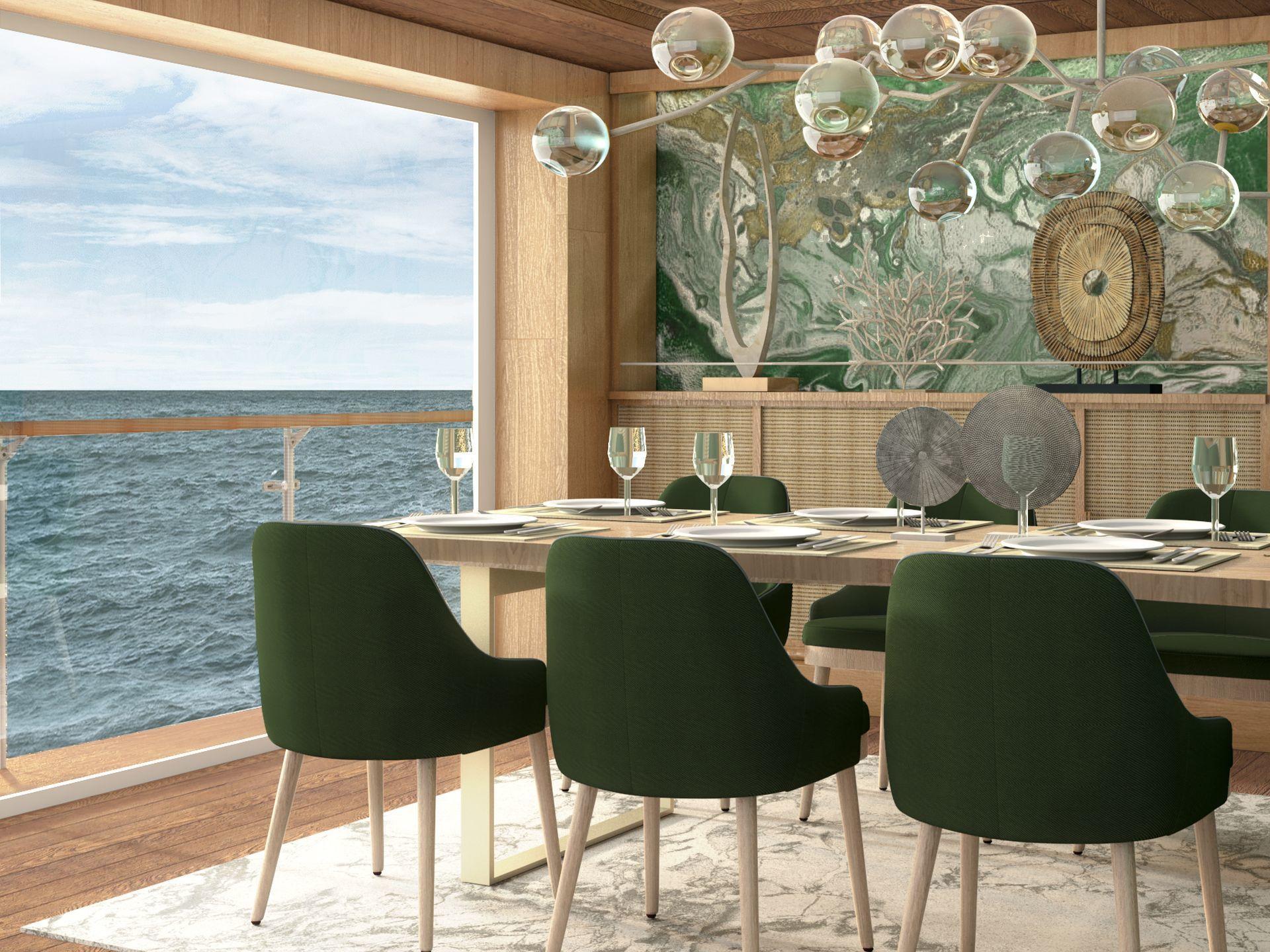 40m Motor Yacht BioBlu Interior