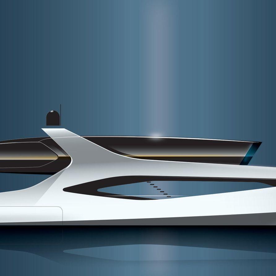 40m Motor Yacht BioBlu Onital Studio
