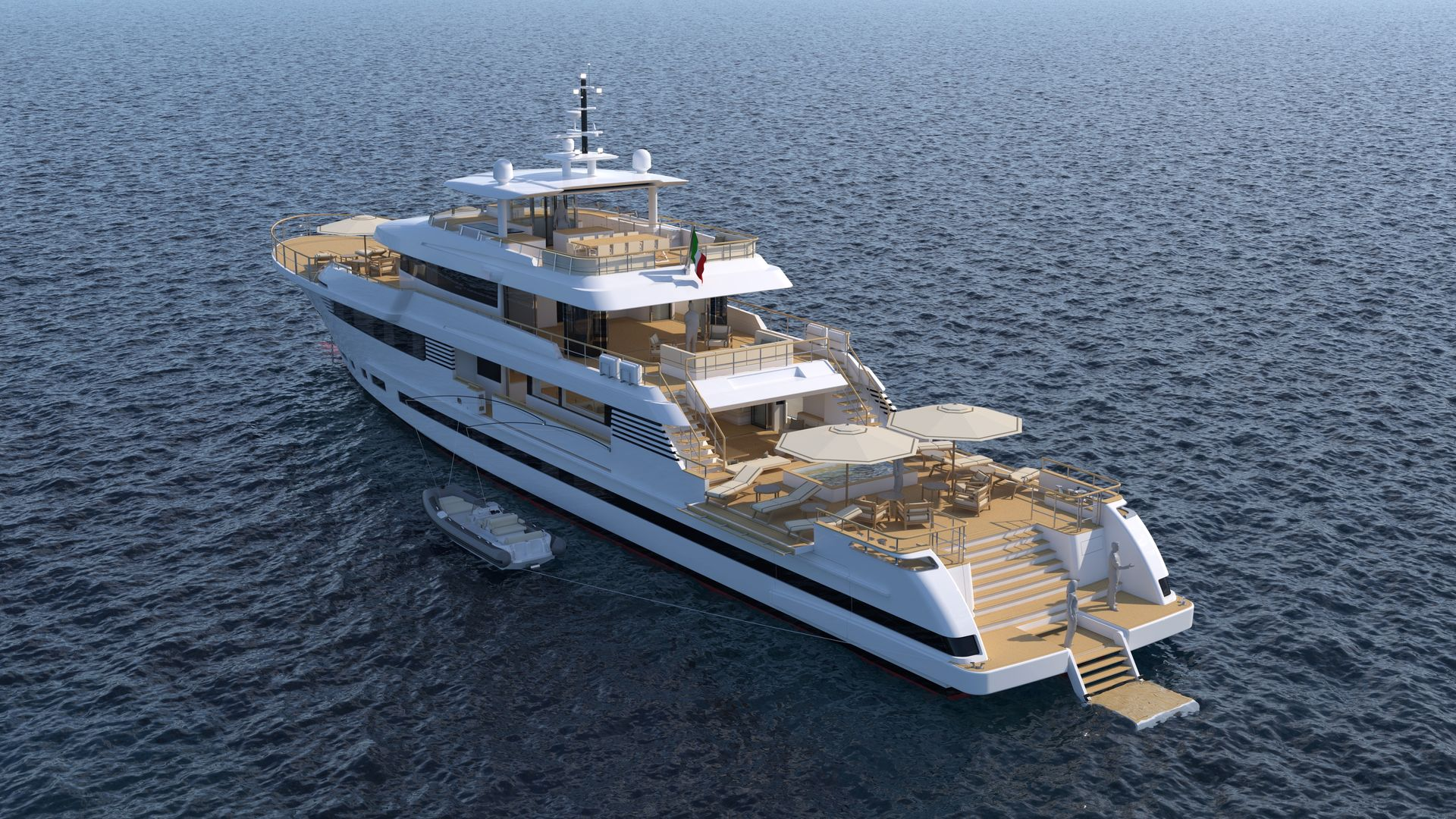 50m Explorer Yacht Tommaso Spadolini