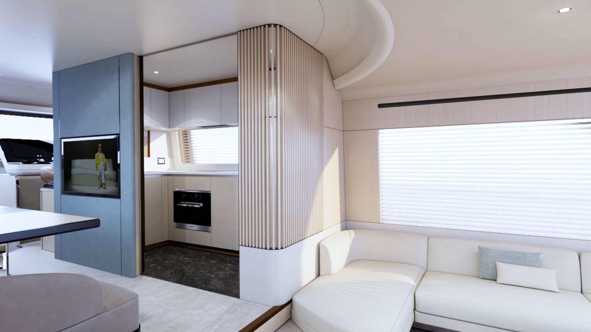 Azimut 68 Motor Yacht Interior